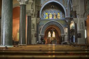 Vue intérieure de la Basilique