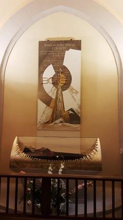 Translation de la châsse de Sainte Thérèse Couderc